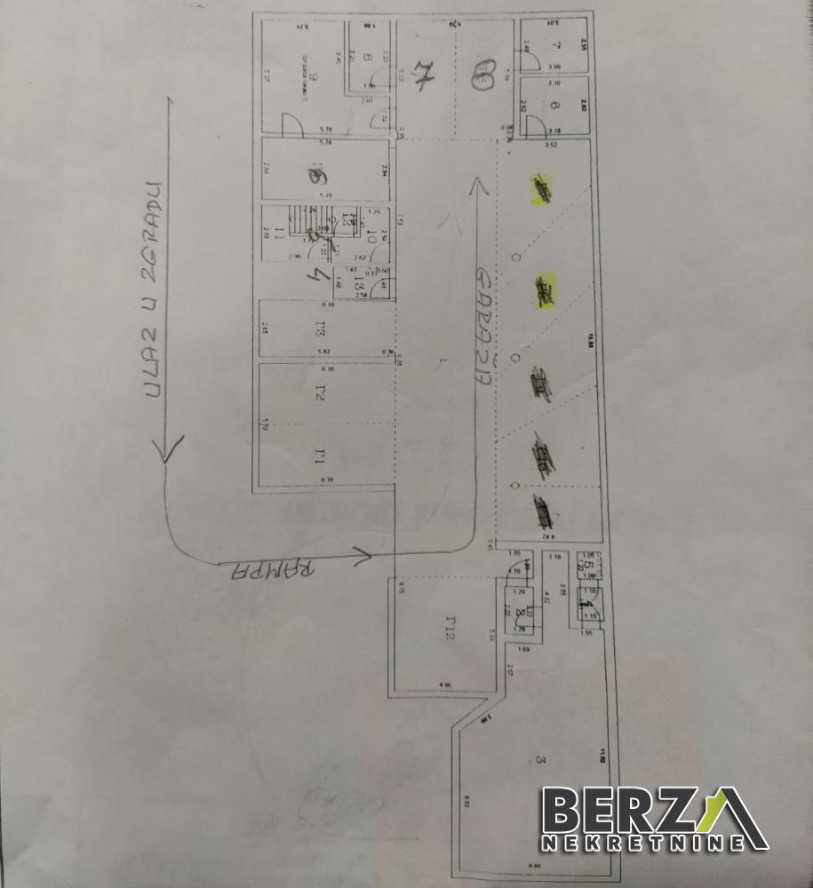 garaža - NOVI SAD - CENTAR - 9000018